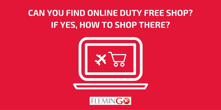 Can you Find an Online Duty Free Shop? If yes, how to shop there?