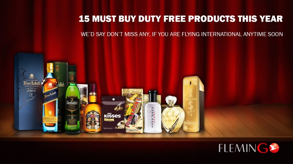 Hand Curated List of 15 MUST BUY Duty Free Products – Don't Miss out on any of these!